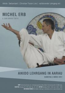 MICHEL ERB à AARAU (PROXIMITE BÂLE) @ Dojo Bunbu-Ichi | Aarau | Aargau | Suisse