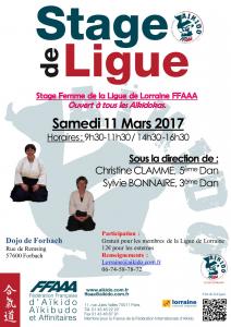 STAGE REGIONAL FEMME Christine CLAMME, Sylvie BONNAIRE @ Dojo de Forbach | Forbach | Grand Est | France