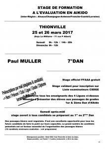 STAGE DE FORMATION A L'EVALUATION EN AIKIDO @ Dojo La Milliaire | Thionville | Grand Est | France