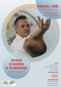 STAGE MICHEL ERB A FLORANGE @ Dojo Florangeaois COSEC des arts martiaux | Florange | Grand Est | France