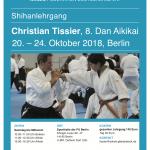 STAGE CHRISTIAN TISSIER A BERLIN @ Sporthalle der F U Berlin | Berlin | Berlin | Allemagne
