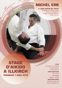 MICHEL ERB STAGE AIKIDO A ILLKIRCH @ Complexe du Lixenbuhl, Illkirch